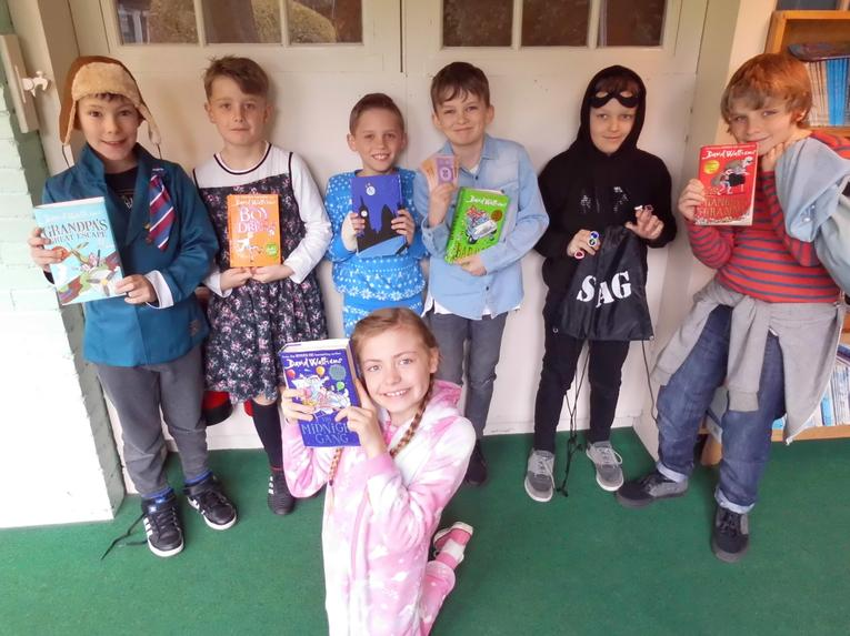 Characters from David Walliams Books