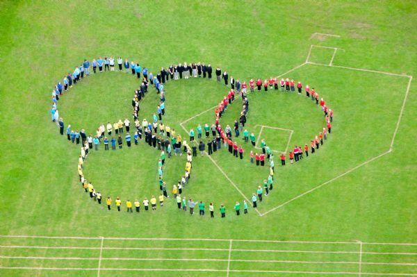 Olympic Aerial Photo 2012