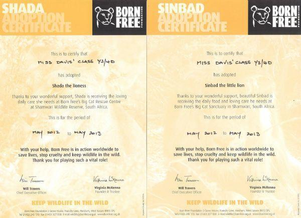 Born Free Foundation 2012