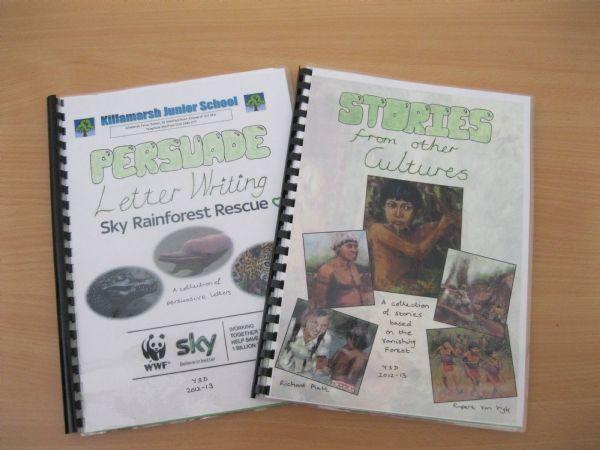 Rainforest Writing