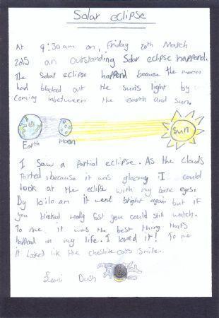 Solar Eclipse Mar'15