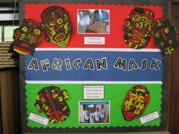 African Masks - Kabafita Lower Basic School Mar'13