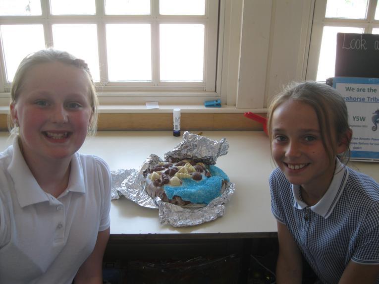 A coastal cake!
