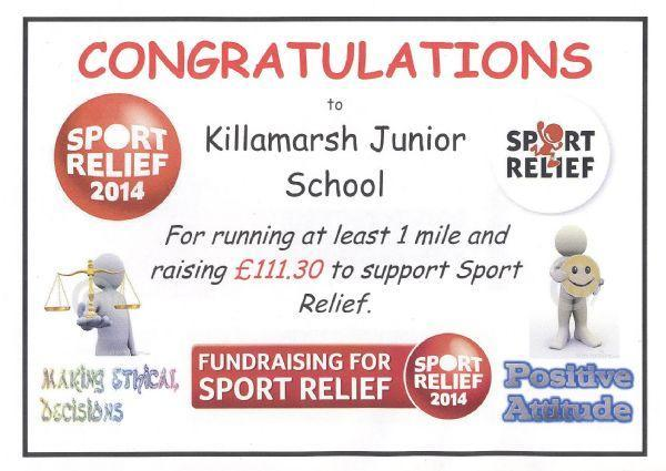 Sports Relief Mar'13