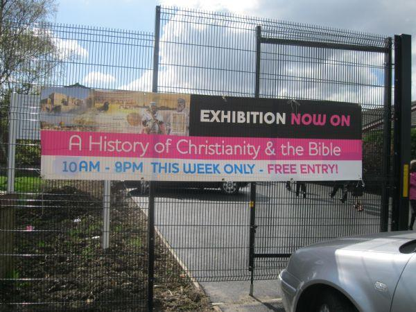 Christianity and Bible Exhibition Apr '13