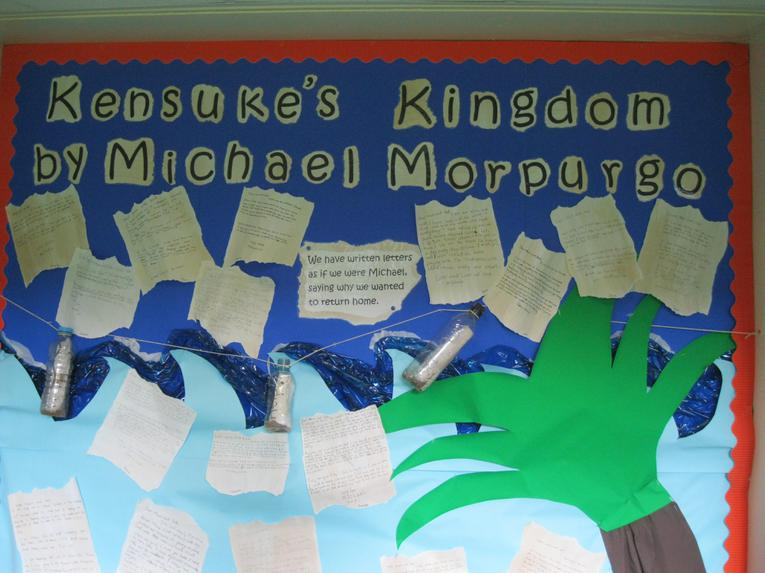 Read our letters inspired by Kensuke's Kingdom.