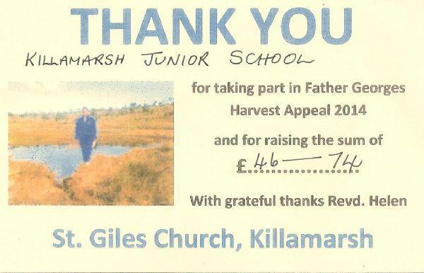 Father Georges Pipe Appeal - Oct '14