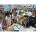 Playing the bananas!