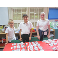 We wrapped them in tin foil to protect them.