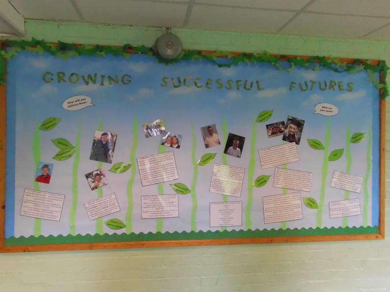 Past Pupils Achievements Display