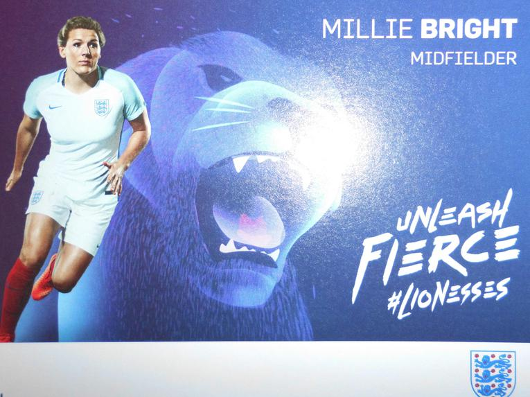 Millie Bright England Star