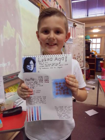 Well done Billy. Your information about the Islamic artic Lubna Agha was fantastic.