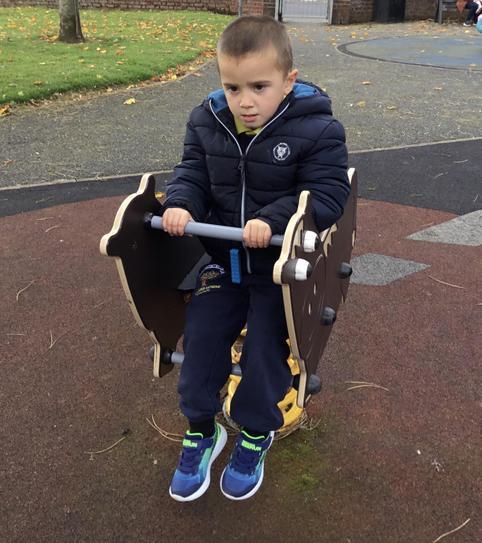 Oliver loves the park.