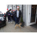Bailey meets Bailey at Christmas!
