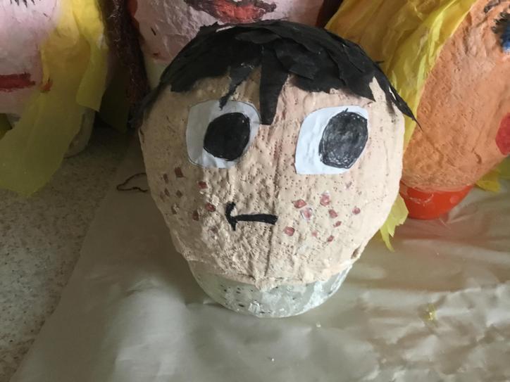 We finished our heads amazing!