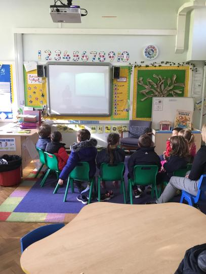 Our first virtual assembly, well done Oliver for getting prize pupil and full attendance!