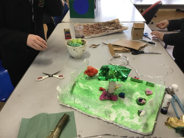 'The Seasons' by Melissa, Declan and James.
