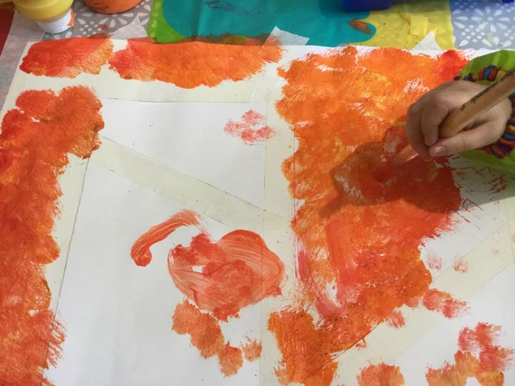 Use bright colours