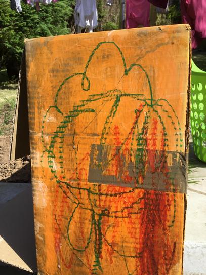 Some of Nadia's artwork