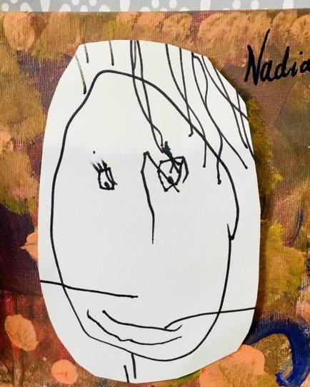 Nadia's self portrait