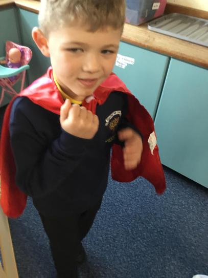 Brody's super power is 'Super smiles'