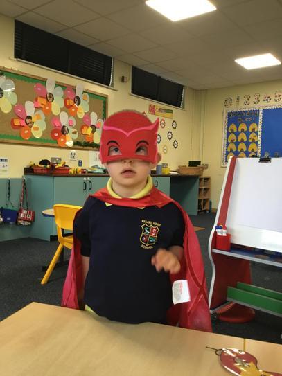 Jake's superpower is 'Super cuteness'