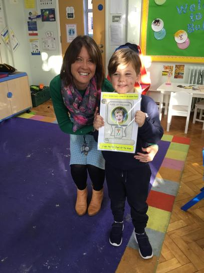 Well done Freddie ~ pupil of the week!