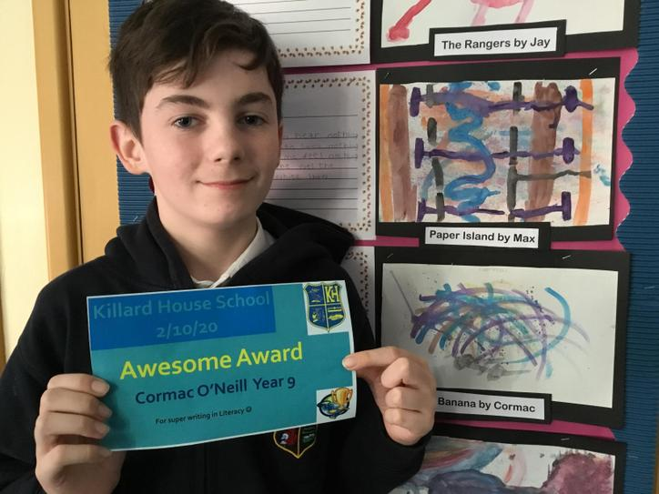 Well done Cormac!