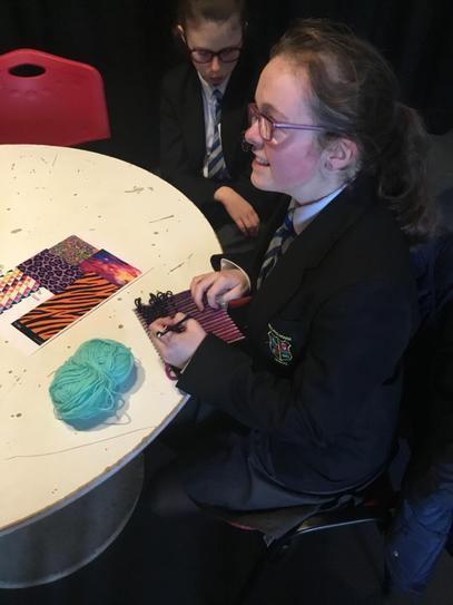 Yr10 enjoying a new practical skill