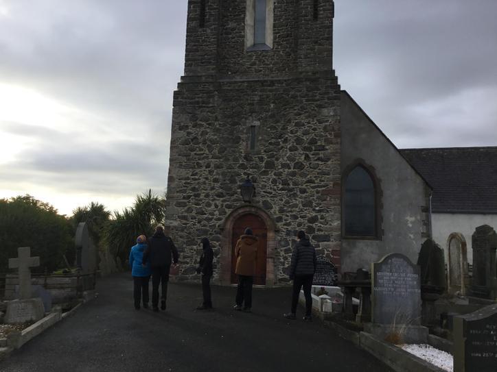 Final stop was Donaghadee Parish Church