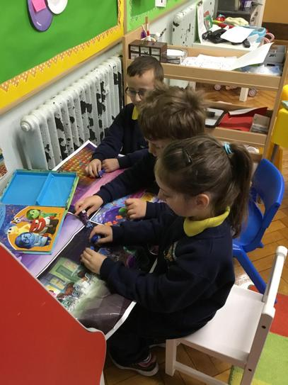 We enjoy playing together in P2.