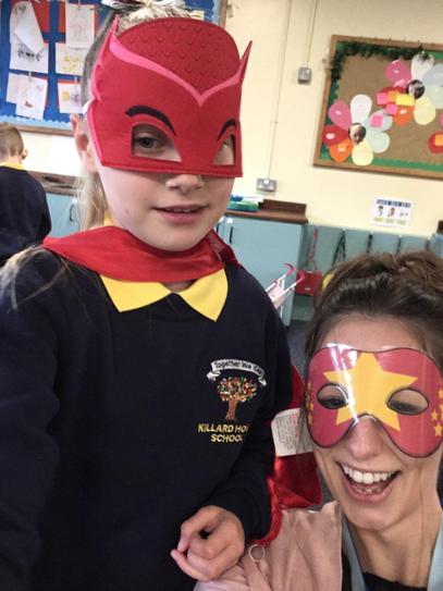 Darci's superpower is 'Super helpfulness'