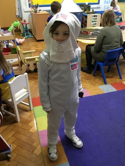 Astronaut Freddie.