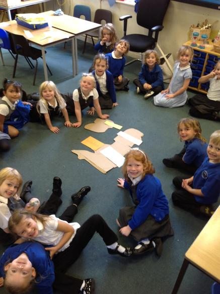 We have been learning about the United Kingdom and the four different countries.