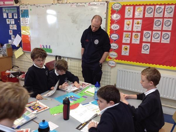 Dublin Fire Brigade visit