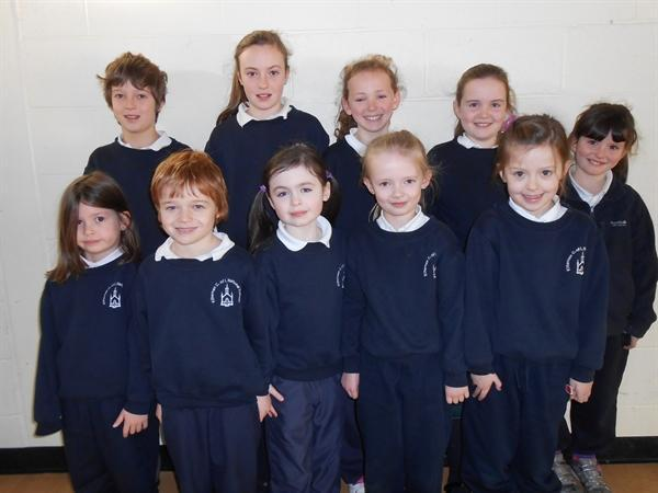 Pupils of the Month Dec 12