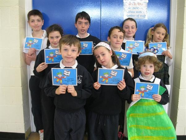 Pupils of the Month April 13