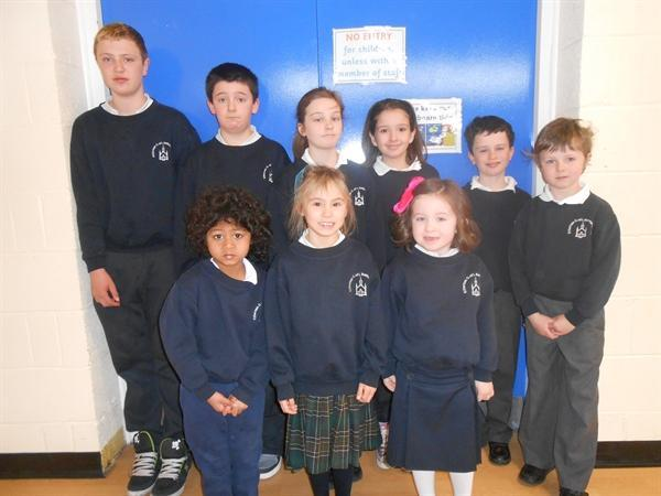 Pupils of the Month March 13