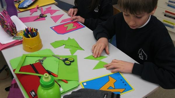 Fun with Tangrams