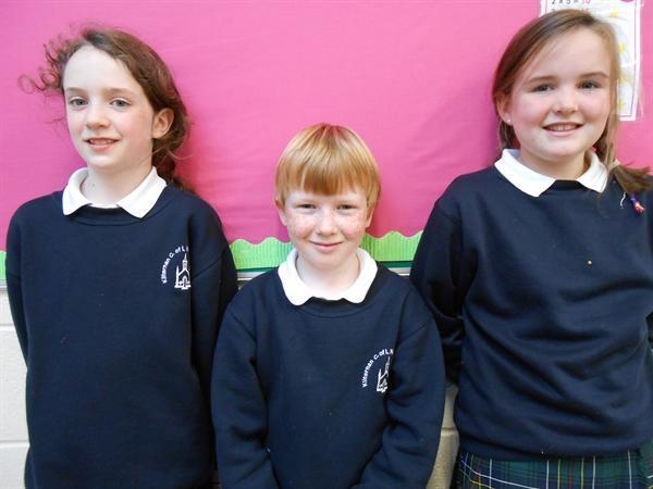 Third Class Winners