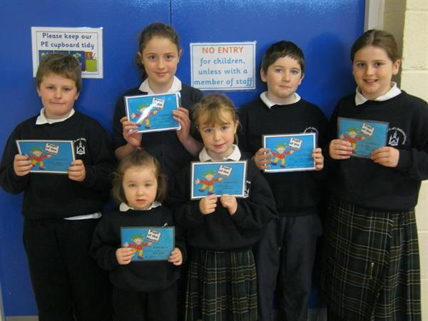 December's Pupils of the Month