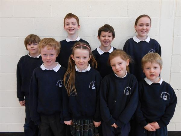 Pupils of the Month Sept 12