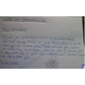Letter to COVID