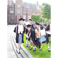 This year's ceremony at Liverpool University.