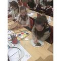Making our Viking shields