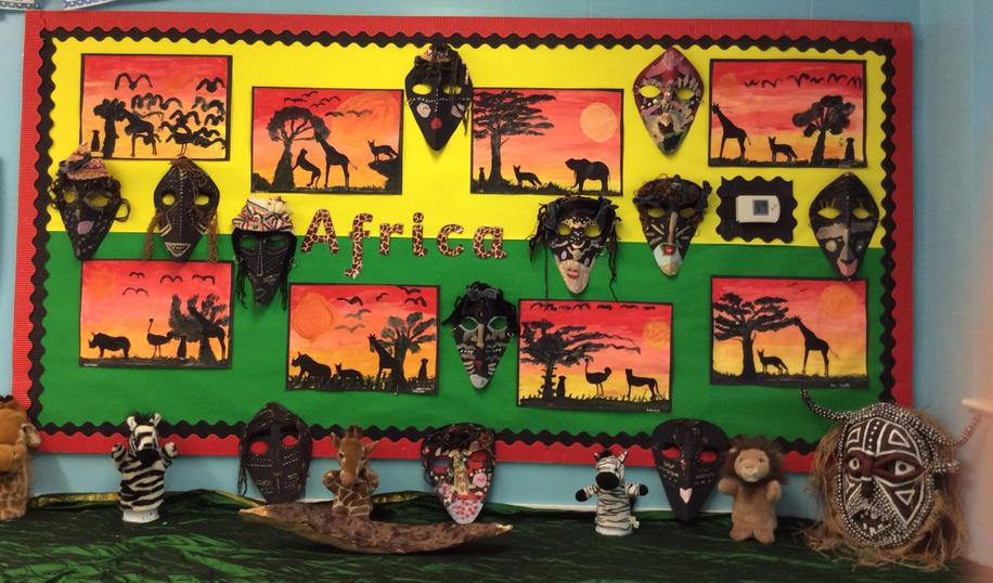 Our Africa display