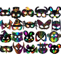 Examples of Jasmine Class Masks when completed