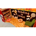 Our fabulous Reading Corner to  inspire and encourage reading!
