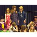 Matilda, Miss Honey and Amanda Thripp