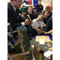 WW1 expert, shares his expertise and artefacts